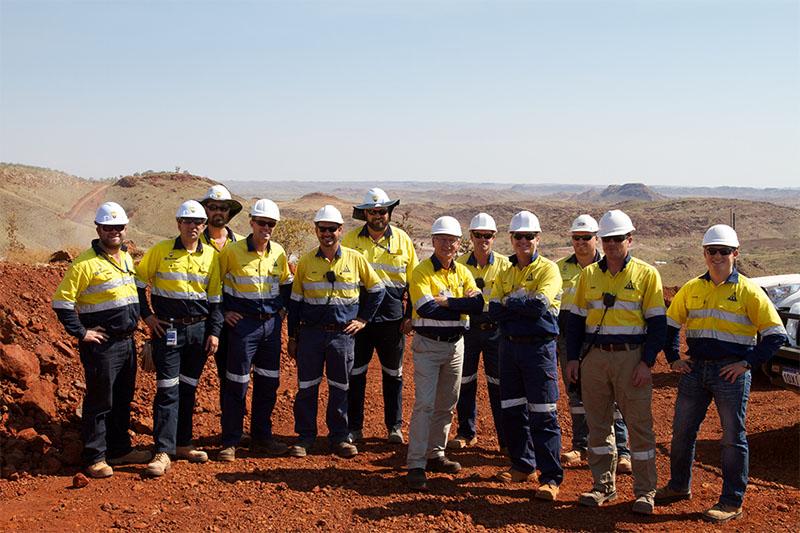 Atlas Iron staff