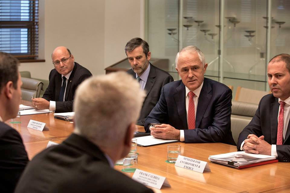 PM meeting with gas bosses