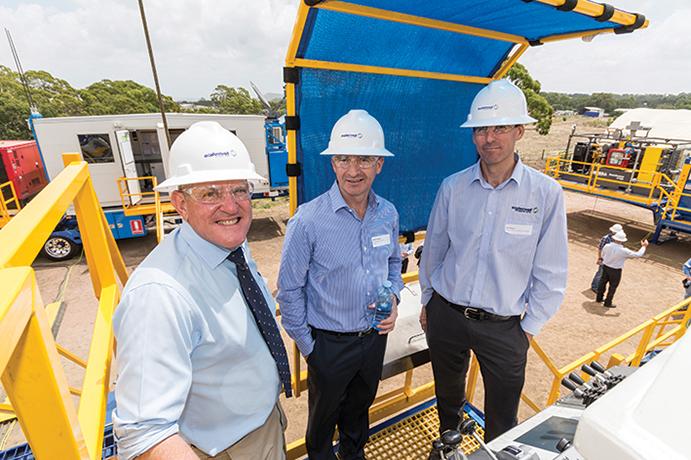 01-Hon.-Ian-Macfarlane-MP,-Mitch-Ingram-(QGC-Managing-Director),-Tim-Phelan-(Easternwell-Executive-General-Manager)