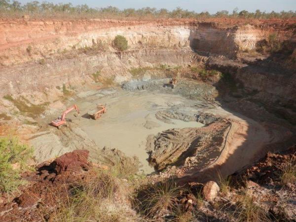 Merlin Mine Kaye pit