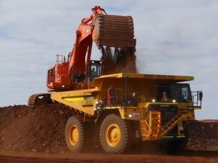 Mt Gibson Iron Hill Mine