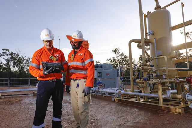 QGC lng gas Surat Basin