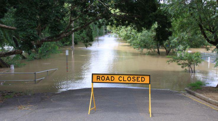 Stock image of flooding