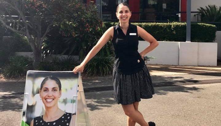 Greens candidate Kirsten Lovejoy